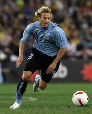 Diego Forlan Football Picture