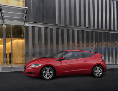 2011 Honda CR-Z Sport Hybrid Coupe Side View