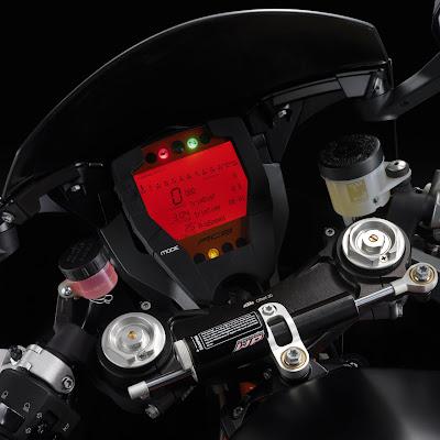 2010 KTM RC8 R Dash