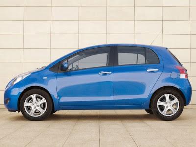 2010 Toyota Yaris Blue
