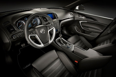2010 Buick Regal GS Concept Interior
