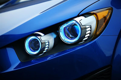 2010 Chevrolet Aveo RS Headlight