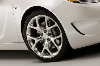 2010 Buick Regal GS Concept Wheel