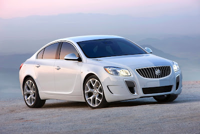 2010 Buick Regal GS Concept Wallpaper
