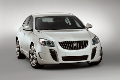2010 Buick Regal GS Concept Front View