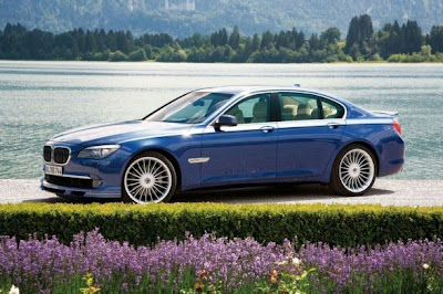 2011 BMW Alpina B7 Side View