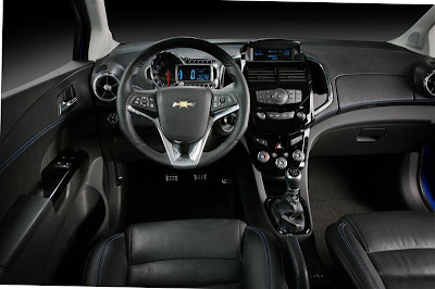 2010 Chevrolet Aveo RS Interior