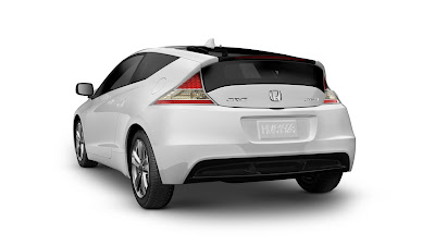 2011 Honda CR-Z Sport Hybrid Coupe Rear View