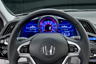 2011 Honda CR-Z Sport Hybrid Coupe Steering Wheel
