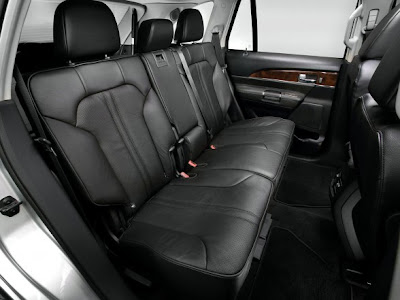 2011 Lincoln MKX Seats