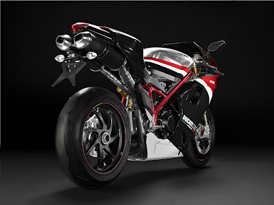 2010 Ducati 1198S Corse Special Edition Rear View