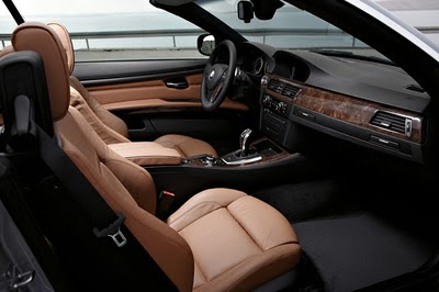 2011 BMW 3-Series Convertible Interior View
