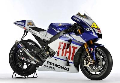 2010 Fiat Yamaha YZR-M1 MotoGP