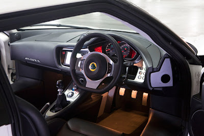 2010 Lotus Evora Car Interior