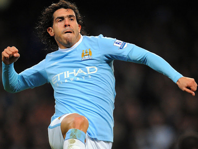 Carlos Tevez Celebration