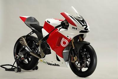 2010 Bimota HB4 Moto2 Motorcycle