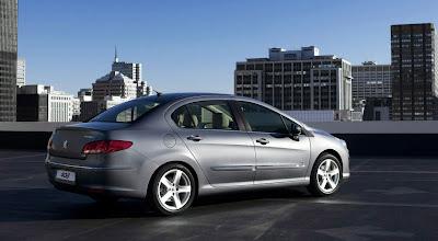 2011 Peugeot 408 Rear Side View
