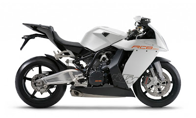 2010 KTM 1190 RC8 Sport Bike