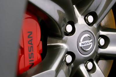 2010 Nissan 370Z Black Edition Wheel
