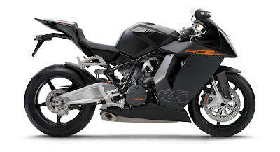 2010 KTM 1190 RC8 Motorcycle