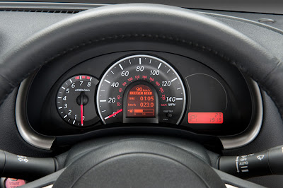 2011 Nissan Micra Gauges