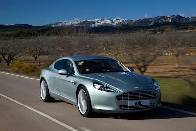 2010 Aston Martin Rapide Test Drive