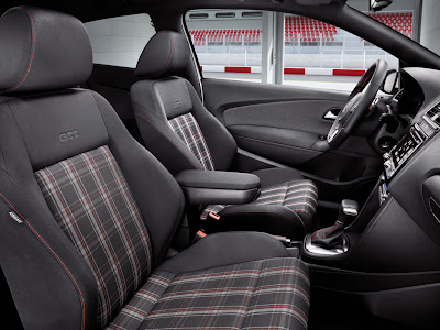 2011 Volkswagen Polo GTI Seats View