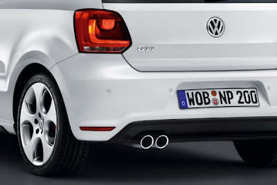 2011 Volkswagen Polo GTI Rear Light