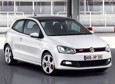 2011 Volkswagen Polo GTI Front View