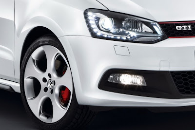 2011 Volkswagen Polo GTI Car Headlight
