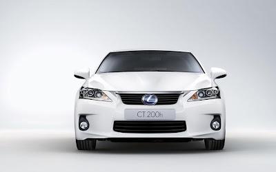2011 Lexus CT 200h Front View