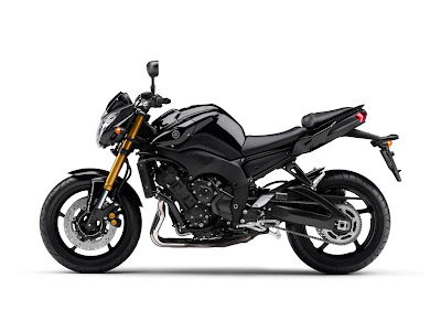2010 Yamaha FZ8 Pure Black