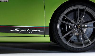 2011 Lamborghini Gallardo LP 570-4 Superleggera Wheel