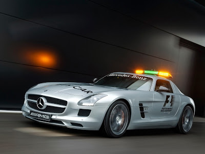 2010 Mercedes Benz SLS AMG F1 Safety Car First Look