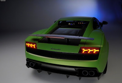 2011 Lamborghini Gallardo LP 570-4 Superleggera Taillights