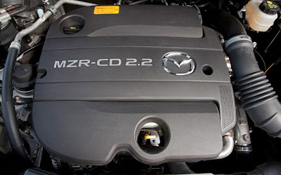 2010 Mazda CX-7 Diesel Engine View