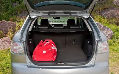 2010 Mazda CX-7 Diesel Cargo Area