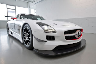 2010 Mercedes-Benz SLS AMG GT3 Sport Car