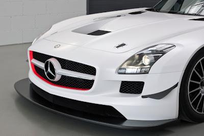 2010 Mercedes-Benz SLS AMG GT3 Taillights