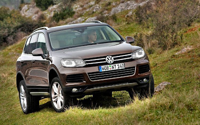 2011 Volkswagen Touareg Car Wallpaper