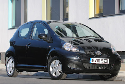2010 Toyota Aygo Black Picture