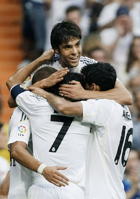 Kaka Rear Madrid