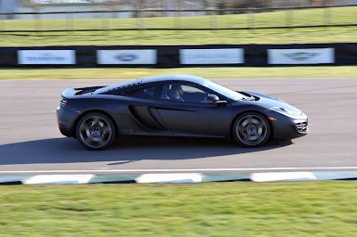 2011 McLaren MP4-12C Side View