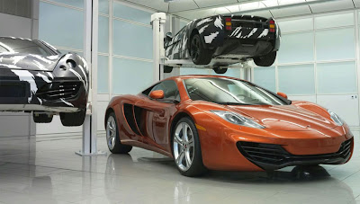 2011 McLaren MP4-12C Images