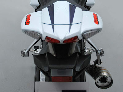 2010 Suzuki GSX-R 600 25th Anniversary Rear