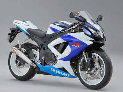 2010 Suzuki GSX-R 600 25th Anniversary Picture