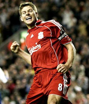 Steven Gerrard Liverpool Football Player