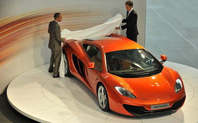 2011 McLaren MP4-12C Super Car