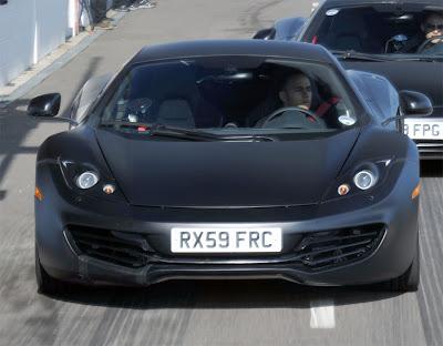 2011 McLaren MP4-12C Front View
