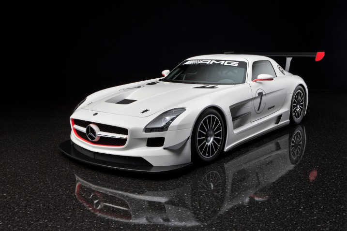 2010 Mercedes-Benz SLS AMG GT3 Car Wallpaper